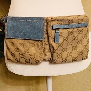 GUCCI FANNY PACK BELT BAG with Dust Bag